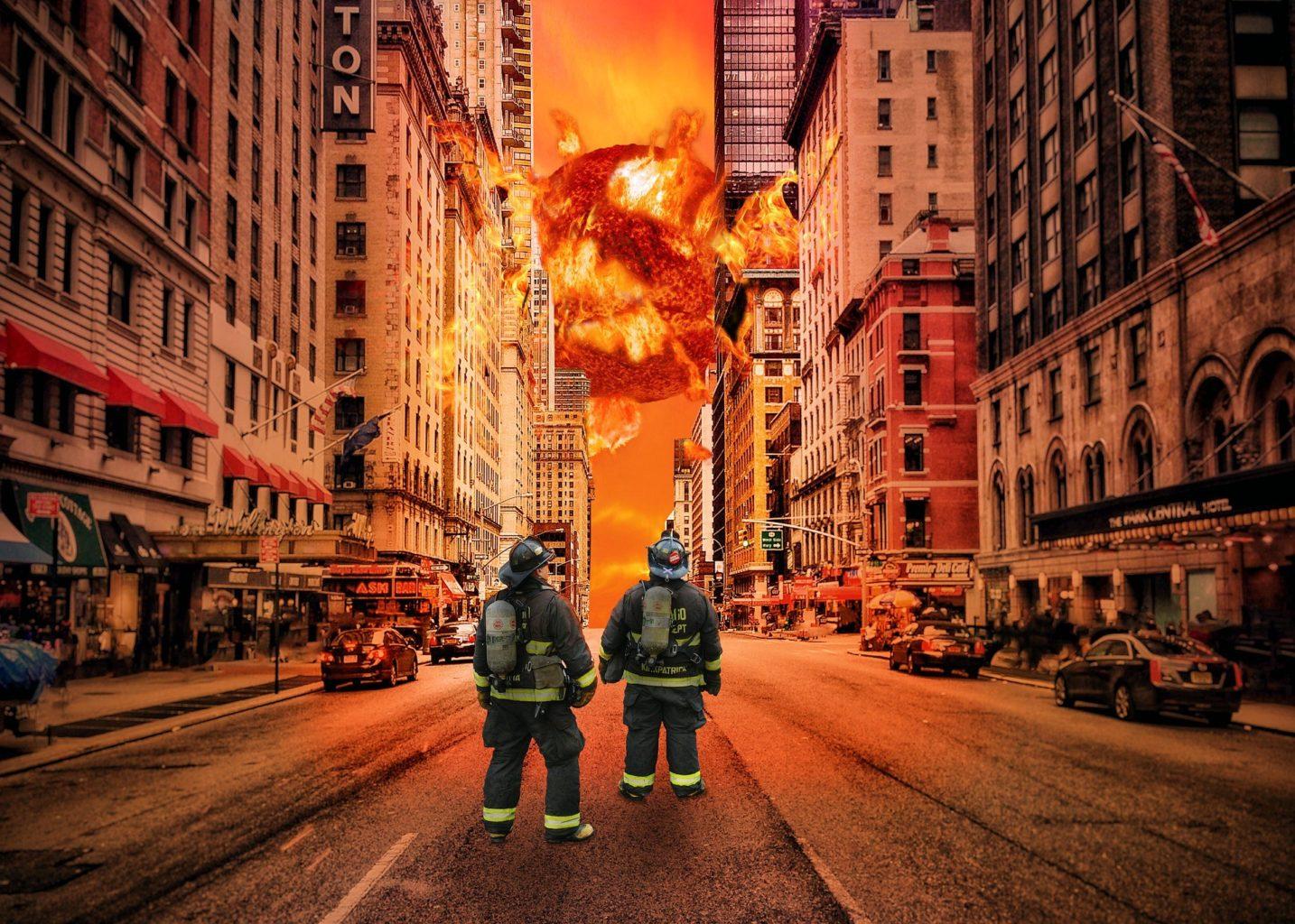Пожары в торговых центрах — самые крупные за последние годы