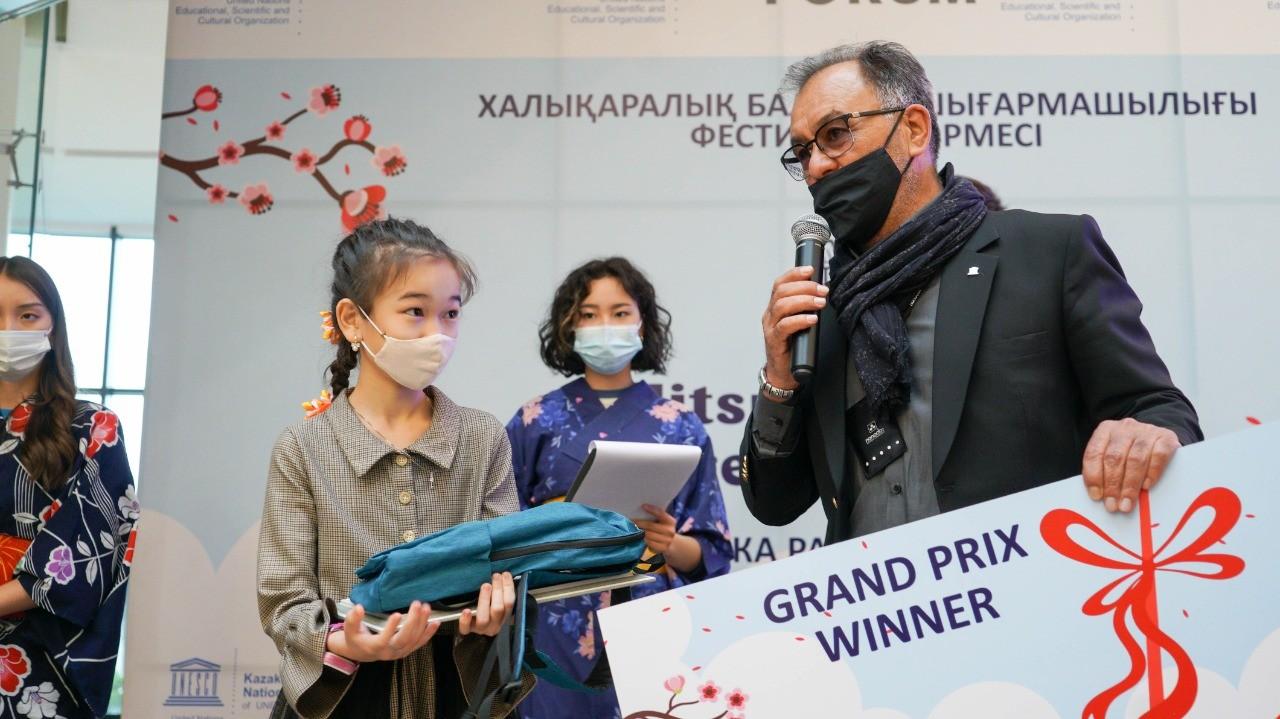 В Алматы открылась выставка детского творчества Enikki festa