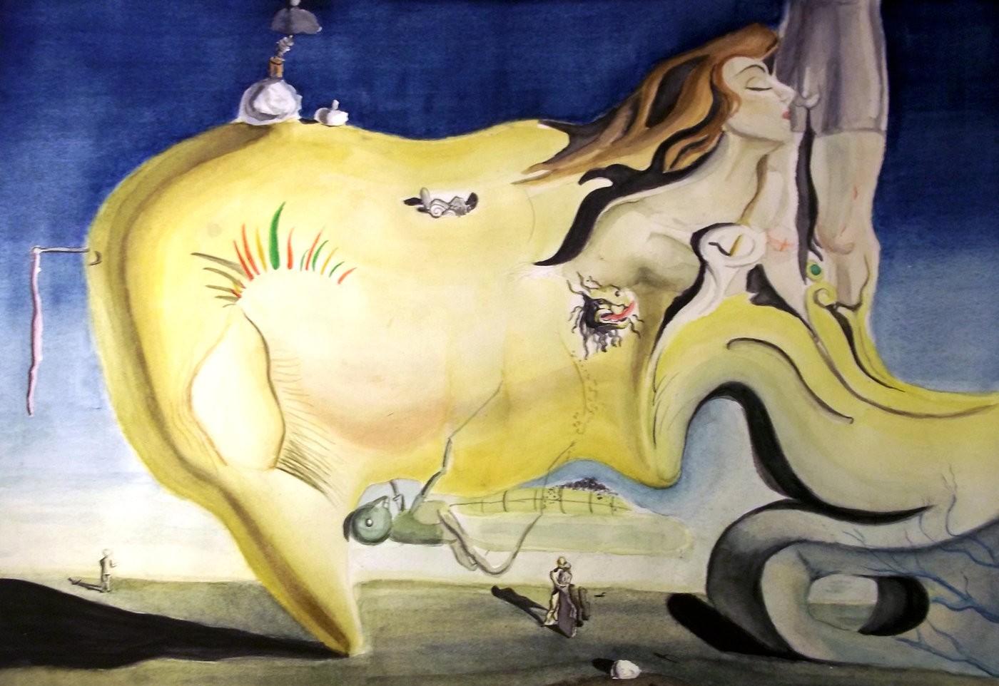 Чем «баловался» Сальвадор Дали при создании своих картин?