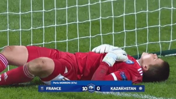 Вратарь сборной Казахстана стала кумиром россиян