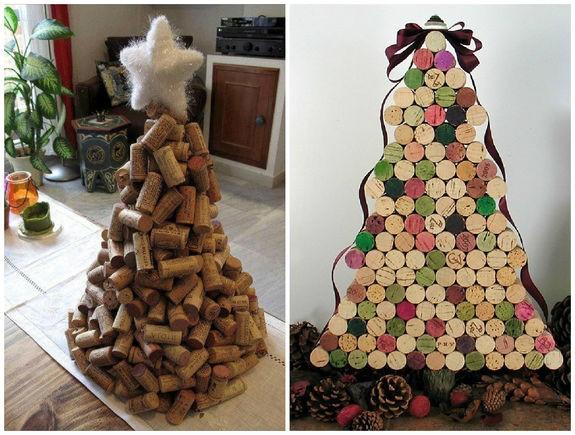 Мужской декор: самые брутальные елки из подручных материалов
