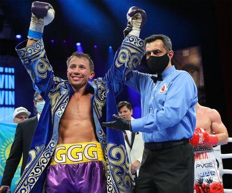 Головкин установил рекорд в бою с Шереметой