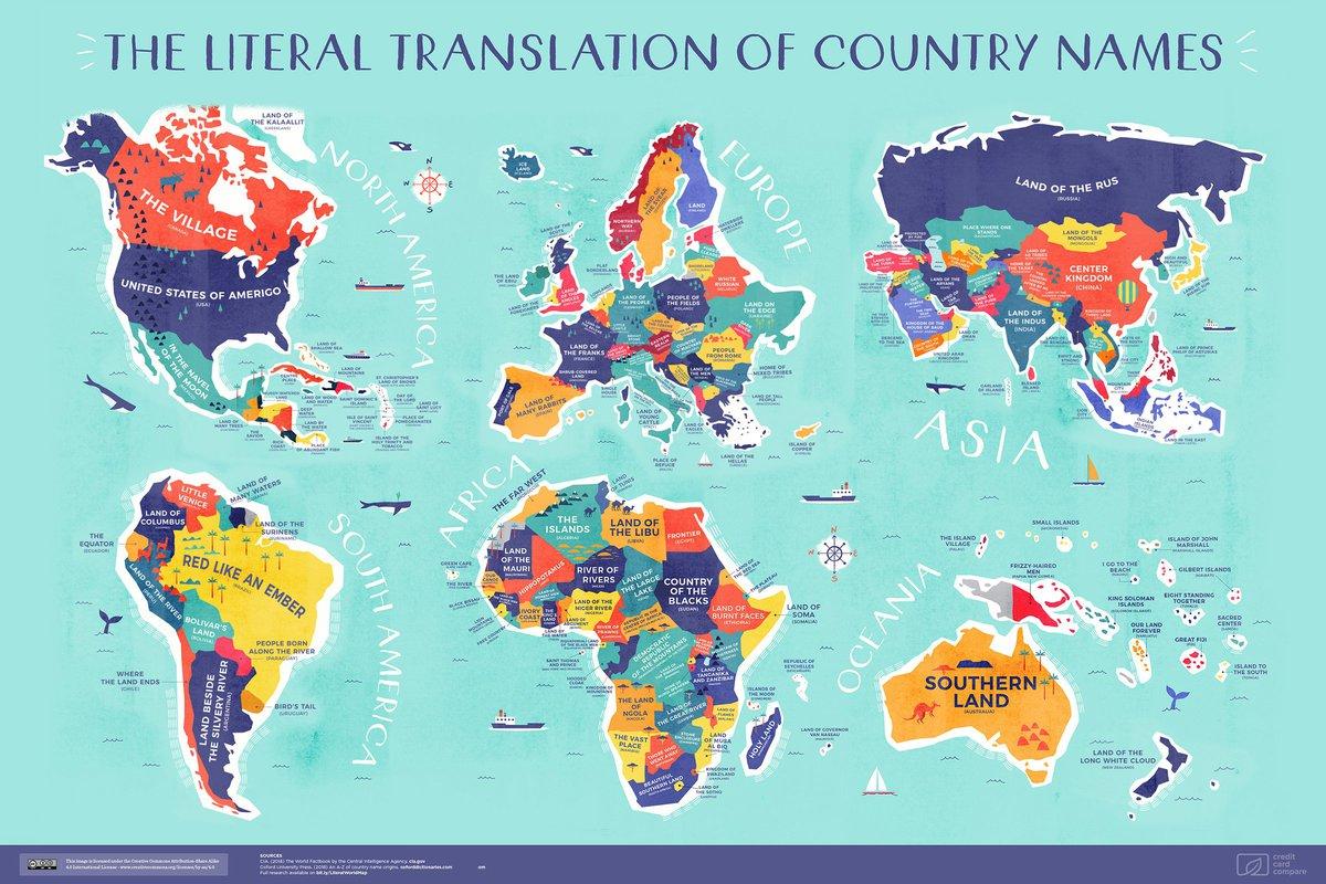 На новой карте мира Казахстан стал «Местом, где стоит человек»