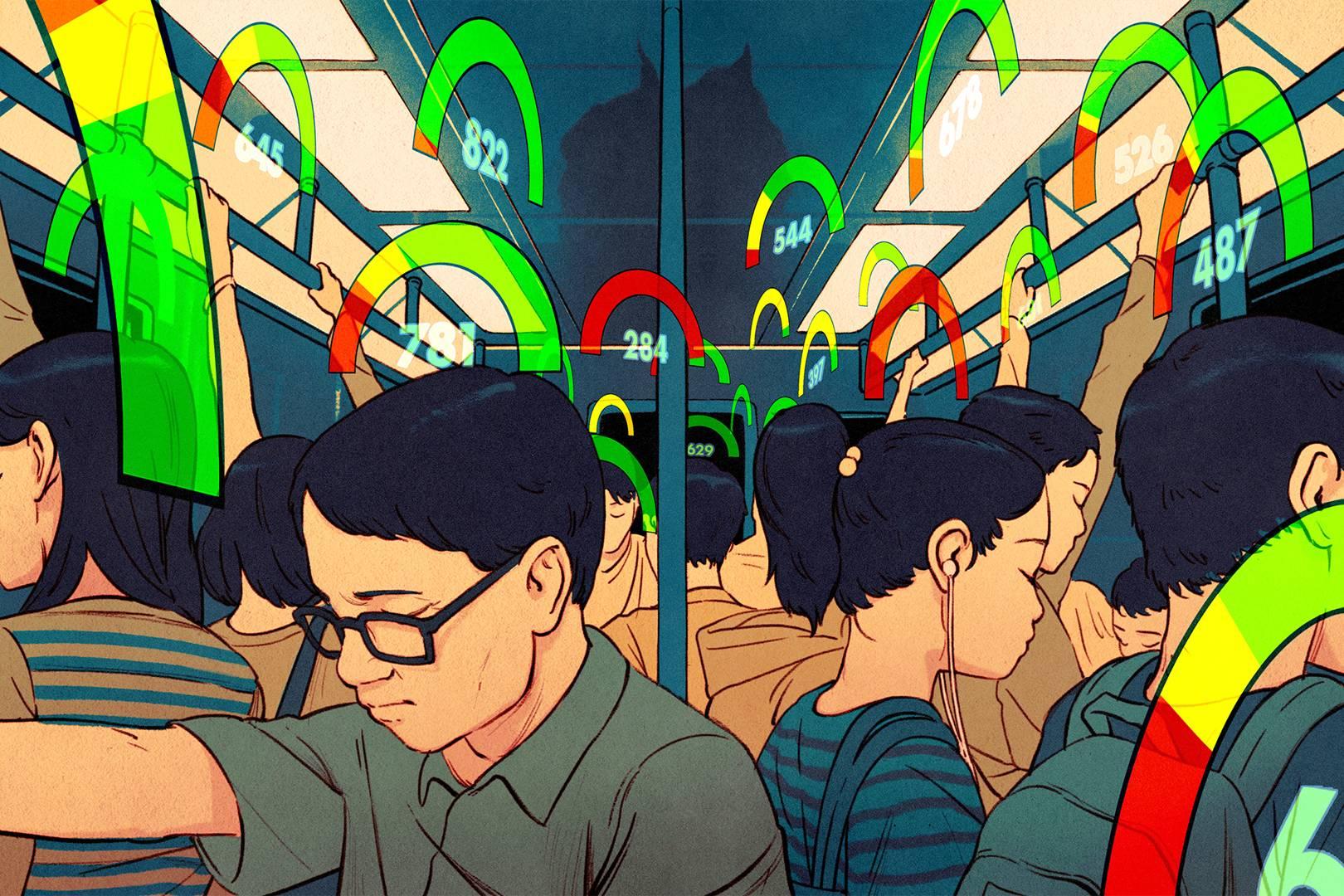 В Китае запущена система оценки поведения граждан: за что дают «черную метку»?