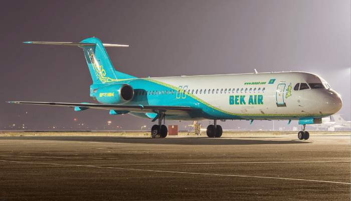 Появились новые подробности в деле о крушении самолета Bek Air