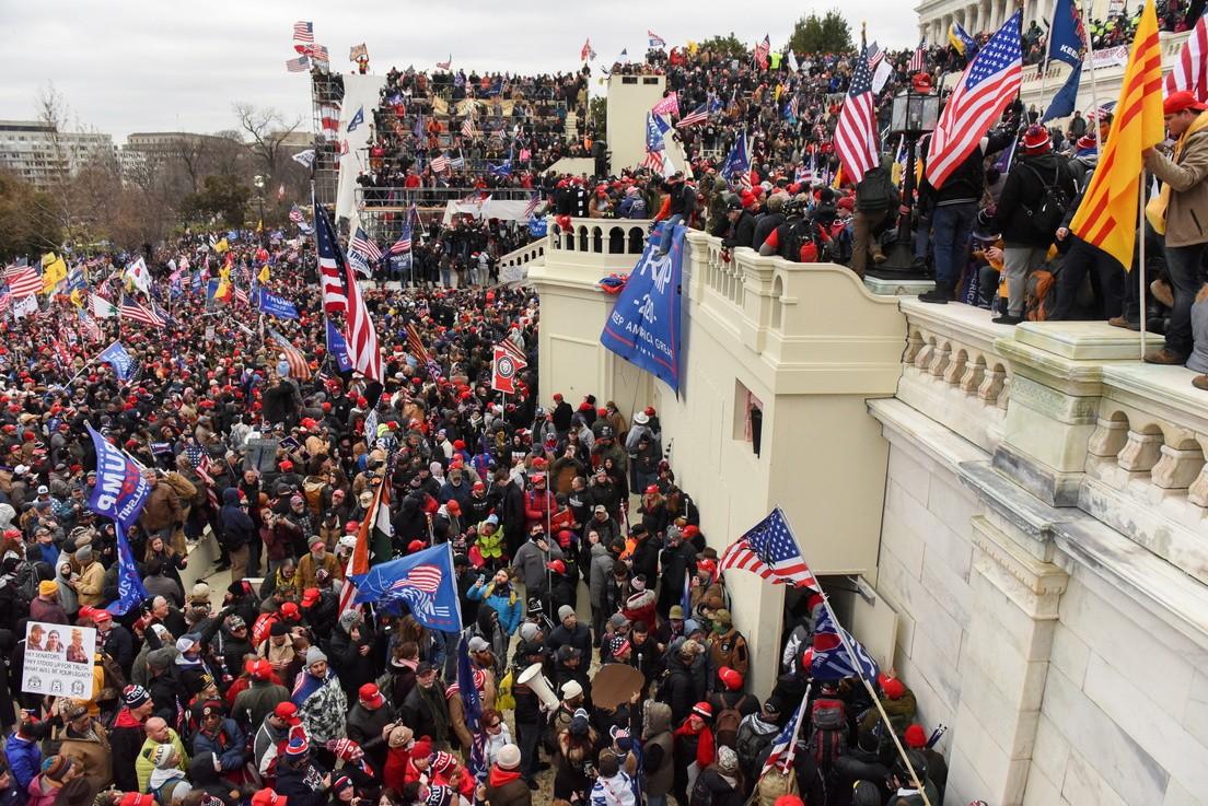 Сторонники Трампа захватили Капитолий