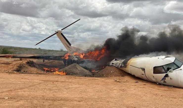 В Бразилии потерпел крушение самолет с футболистами на борту