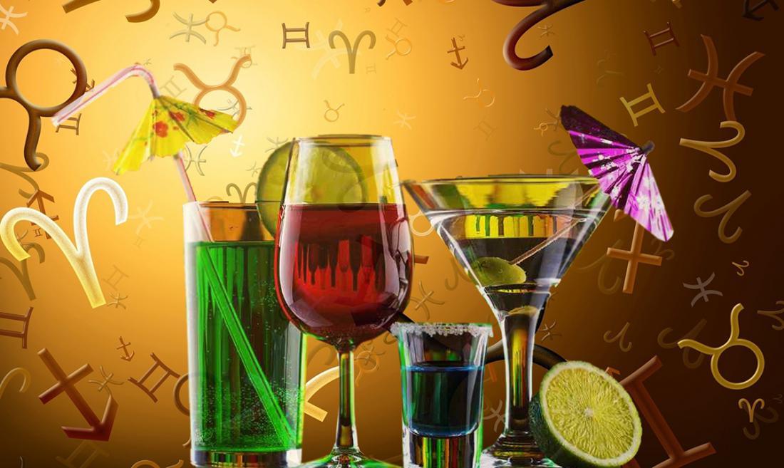 Алкогороскоп: кто из знаков зодиака более других склонен к пьянству?