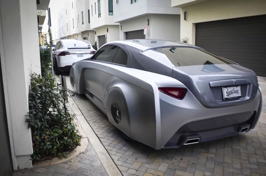 Как выглядит авто за  млн?