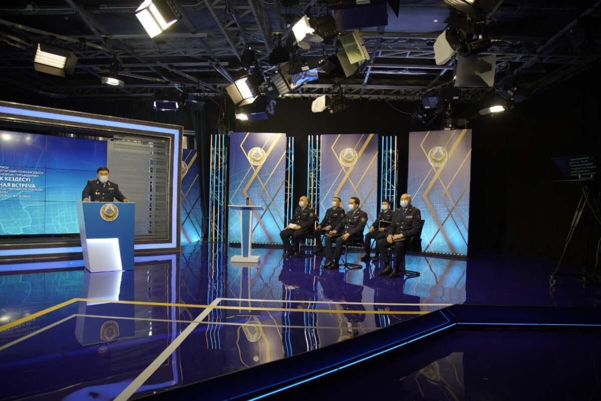 Полиция Алматы выяснила, что больше всего волнует горожан