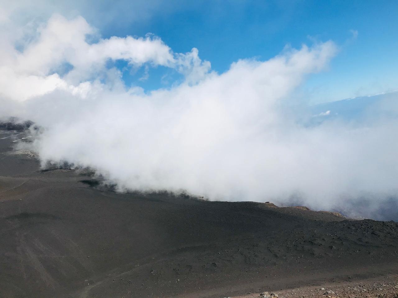Каково это – побывать на действующем вулкане
