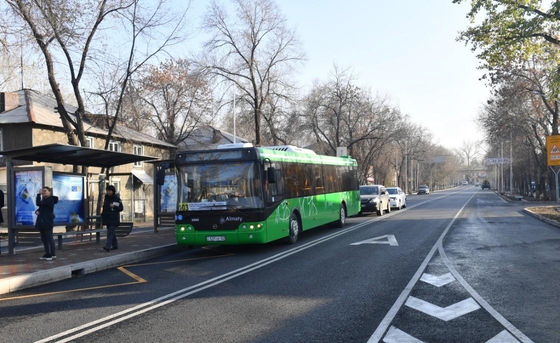 Общественный транспорт не будет работать в Алматы 13 и 14 марта