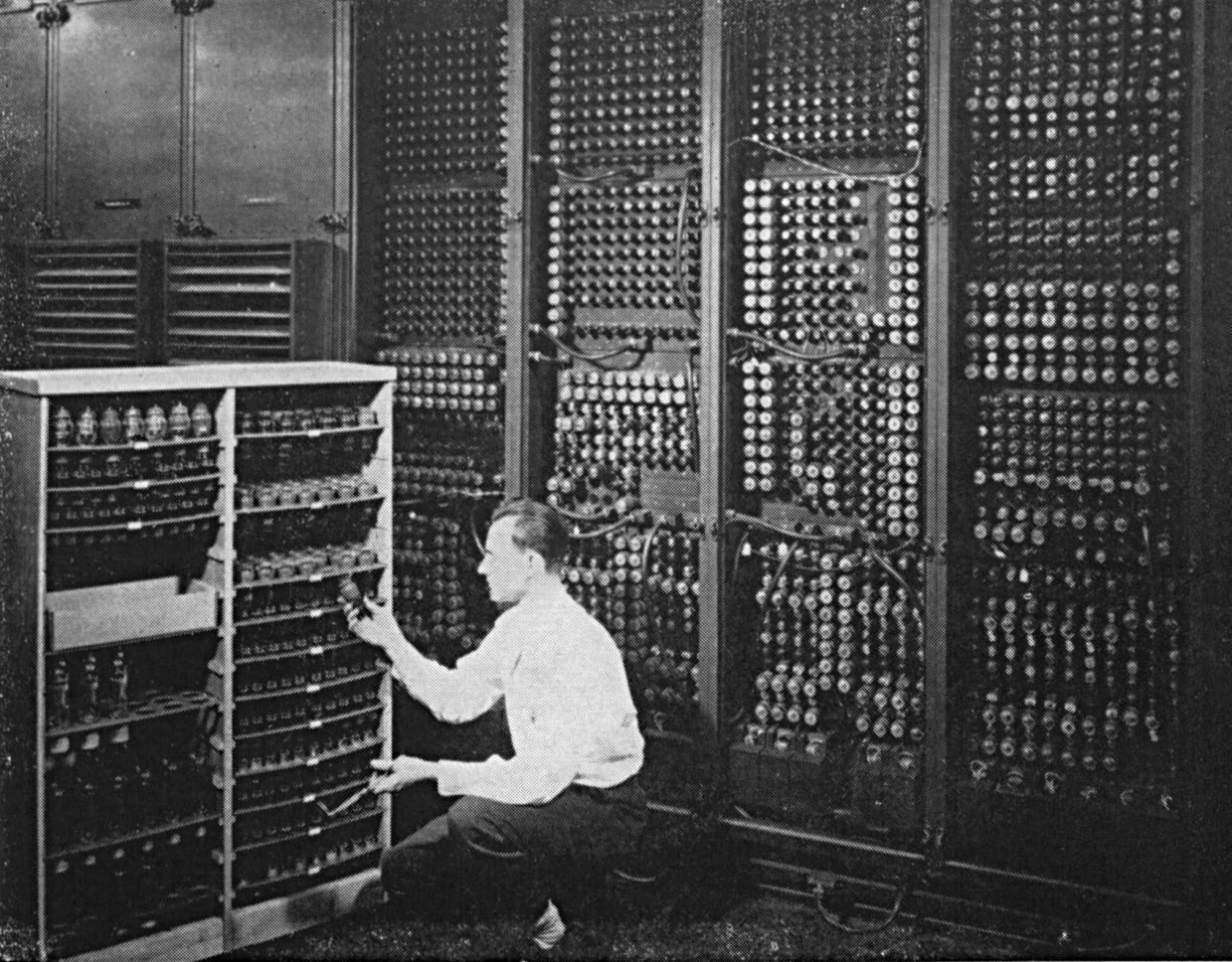 ЭНИАК. Каким был прадедушка современных компьютеров