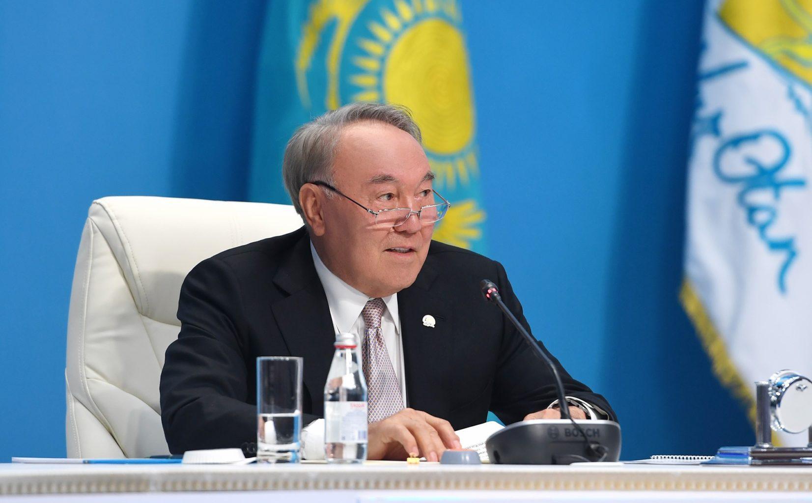 Нурсултан Назарбаев обратился к народу Казахстана