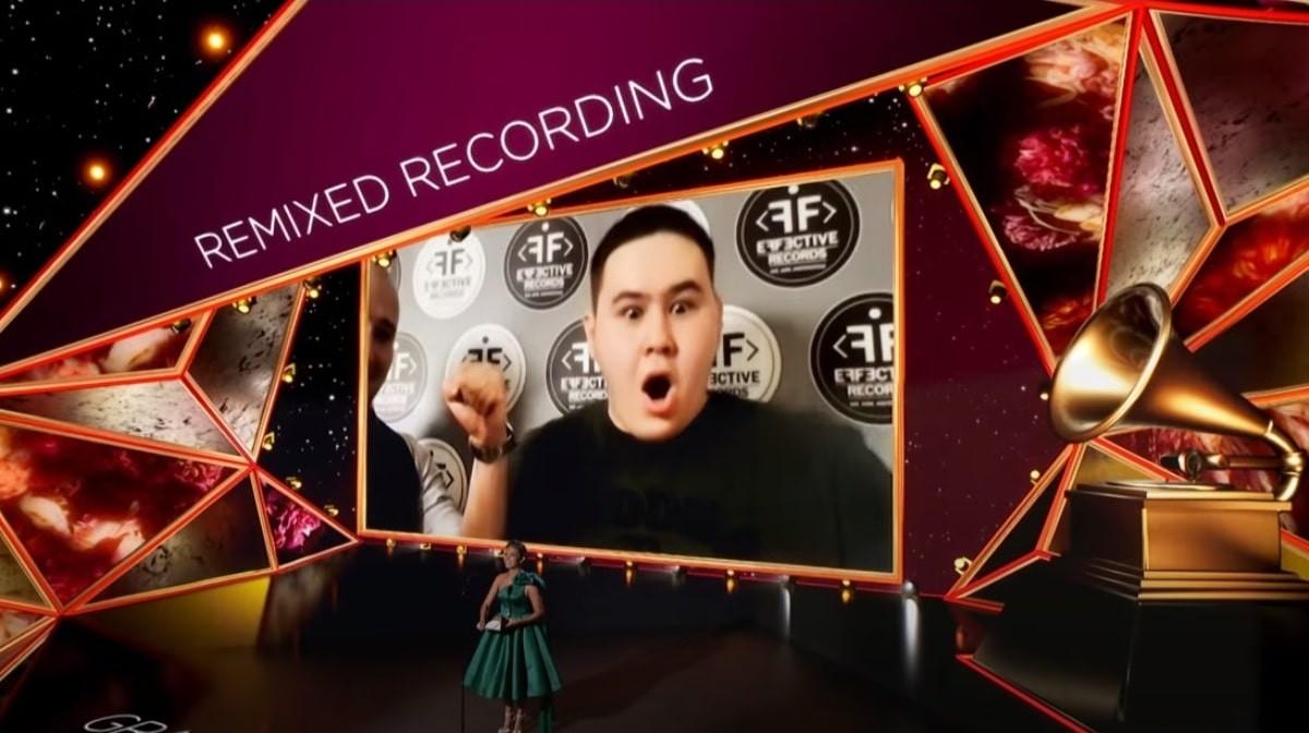 Казахстанский музыкант Иманбек Зейкенов получил премию Grammy
