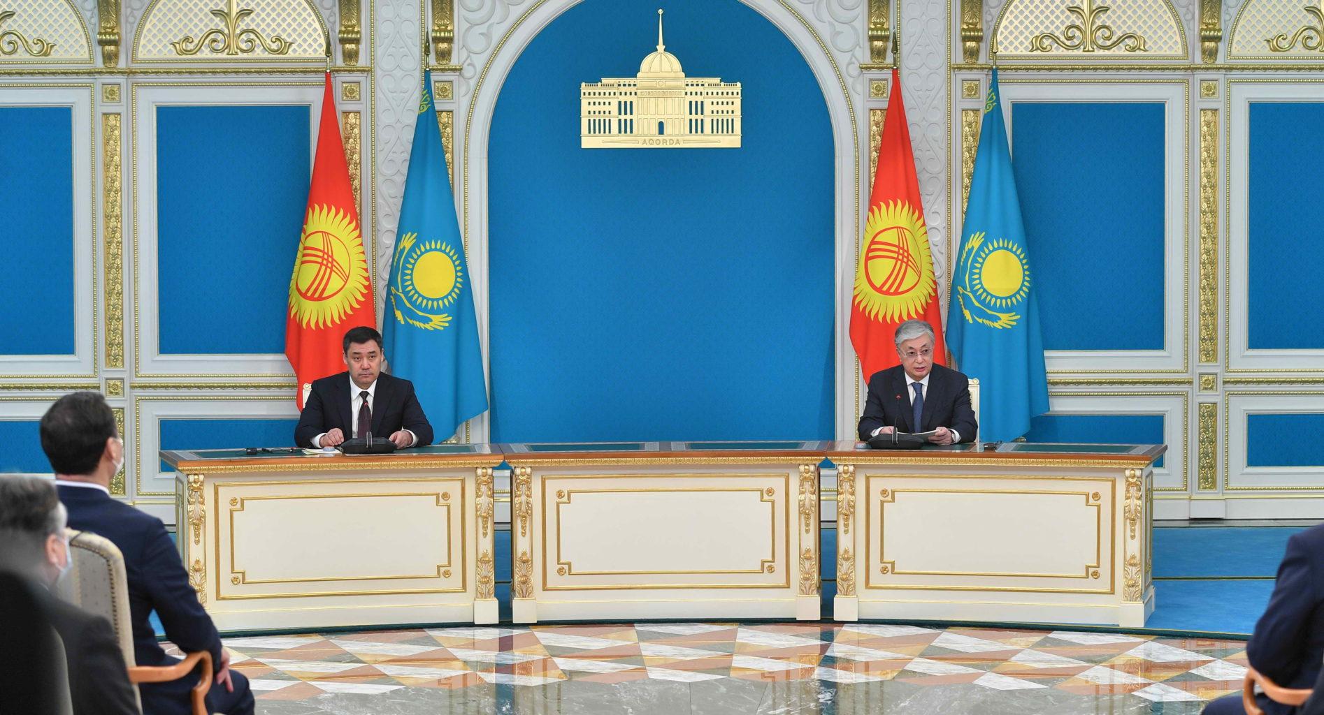 Казахстан предоставит военно-техническую помощь вооруженным силам Кыргызстана