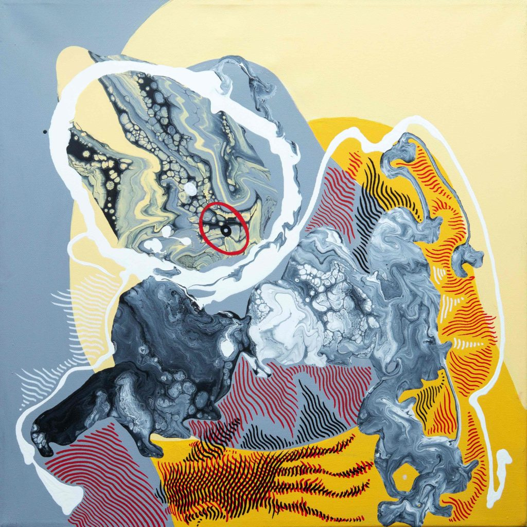 Линия как Вселенная. В Дубае откроется выставка художника Адиля Аубекерова