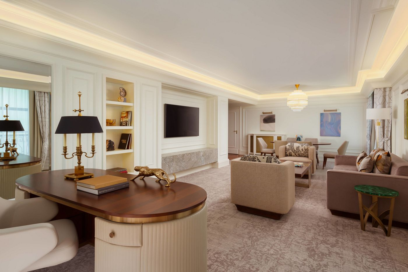 Полное переосмысление. В The Ritz-Carlton, Moscow обновили номера и представительские люксы
