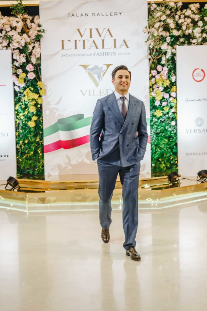 VIVA L'ITALIA by Viled. Казахстанские звезды приняли участие в модном показе