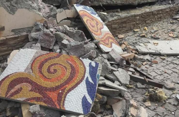 Градостроительное управление не давало разрешения на снос мозаики
