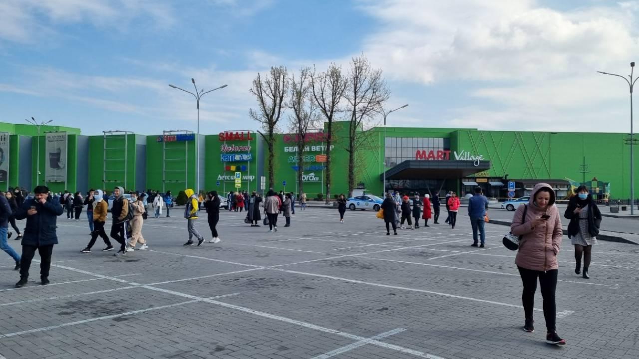 В Алматы «заминировали» один из ТРЦ