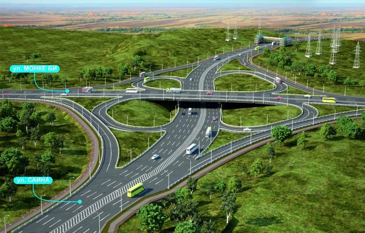 Как будет выглядеть новая транспортная развязка в Алматы