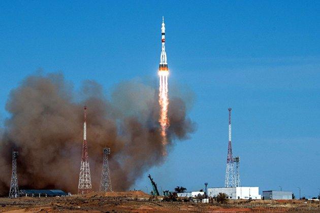 """Космический корабль """"Ю.А. Гагарин"""" стартовал с Байконура в преддверии 60-летия первого полета"""