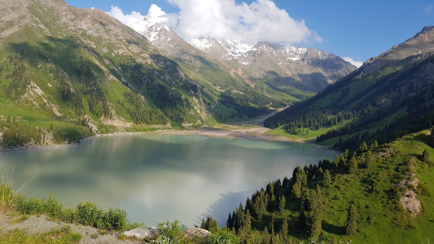 Дорогу на Большое Алматинское озеро закроют на три года