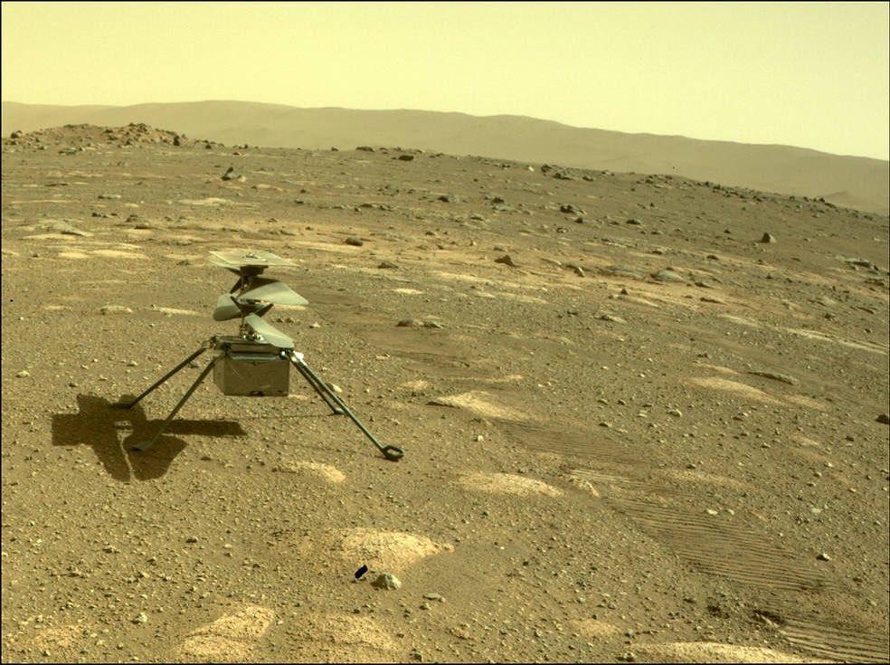 NASA удалось снять невозможное природное явление на Марсе
