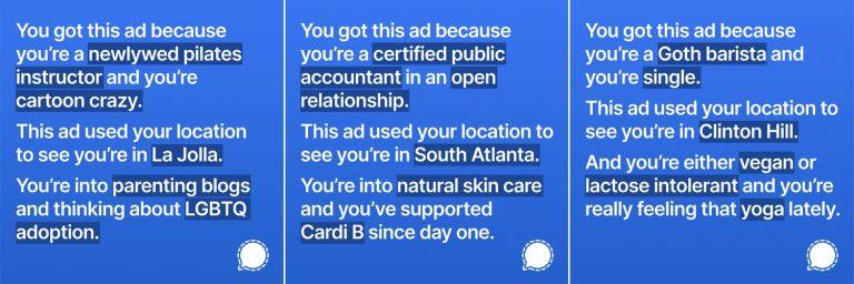 В бан за правду: Signal показал какую информацию о пользователях собирают соцсети и получил бан от Facebook