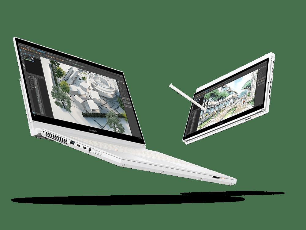 Компания Acer объявила об обновлении каждой линейки ноутбуков для создателей ConceptD