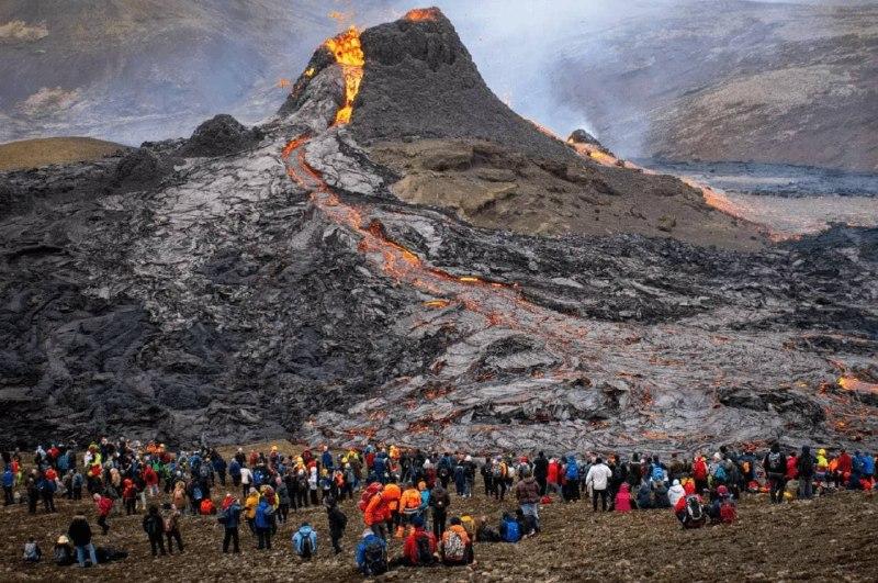 Вулкан Фаградальсфьядль выставили на продажу