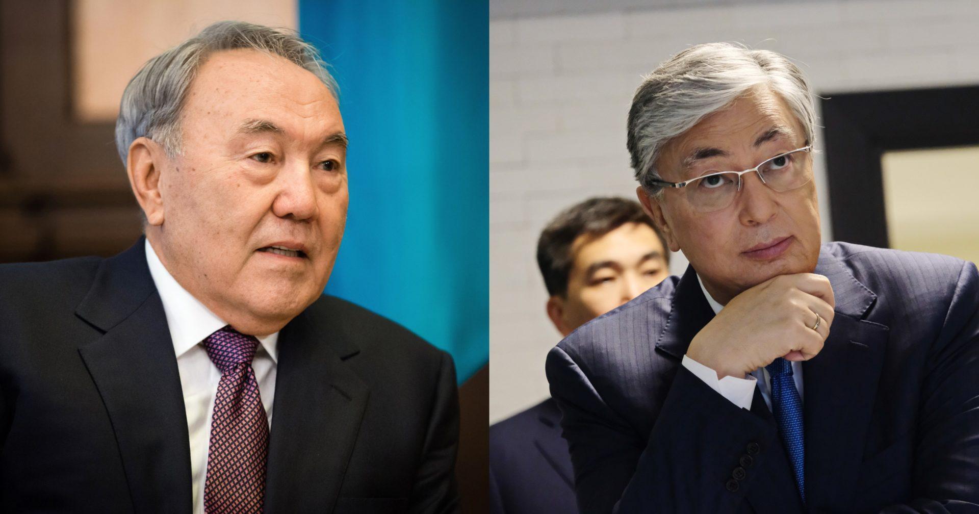 Назарбаев и Токаев поздравили казахстанцев с Днём Победы