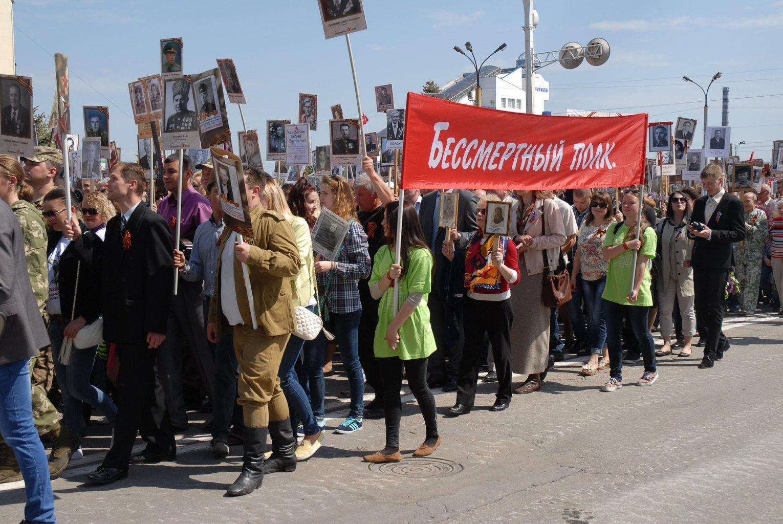 В Казахстане проходит акция «Бессмертный полк»