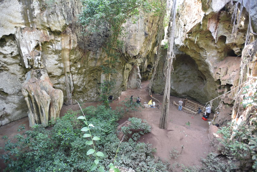 Археологи обнаружили человеческое захоронение, возраст которого около 78 тысяч лет