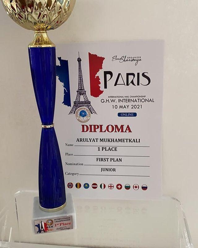14-летний казахстанец выиграл чемпионат в Париже