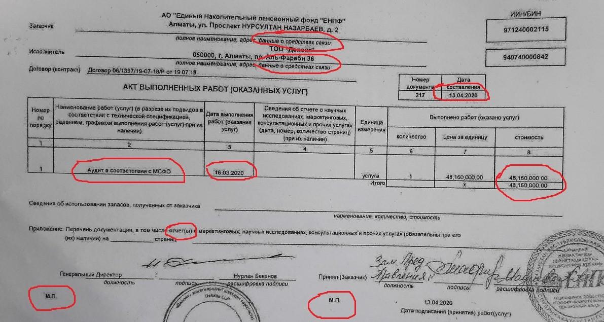 «Делойт не знает ни налоги, ни бухучет» или За что Жангельды Сулейманов подал в суд на ЕНПФ