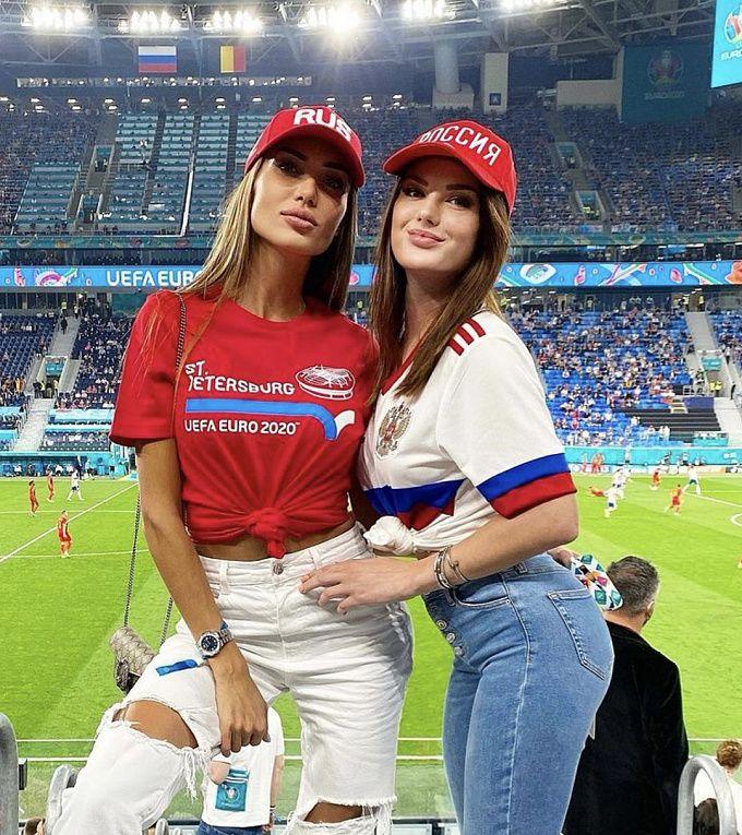 Группа поддержки: самые красивые болельщицы Евро-2020