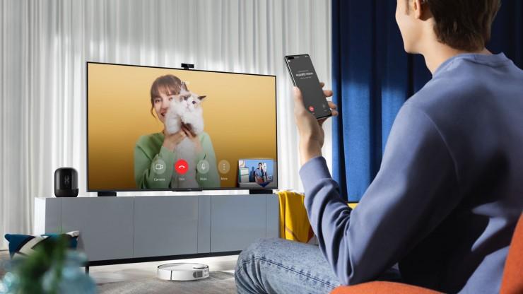 Умный и еще умнее.  HUAWEI представила новый экран Vision S