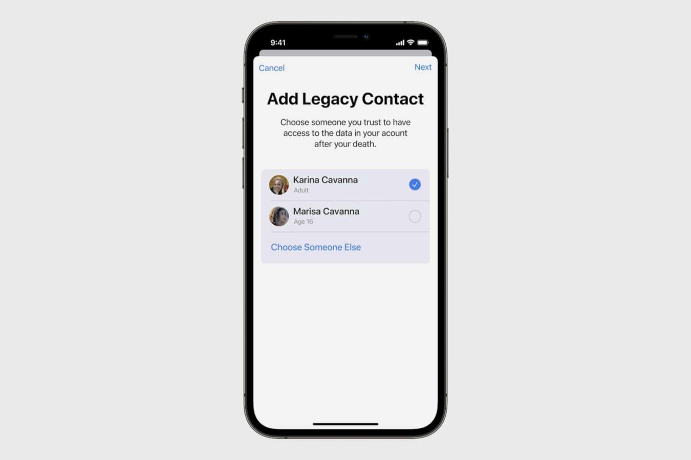 Аккаунты Apple ID теперь можно завещать и передавать по наследству