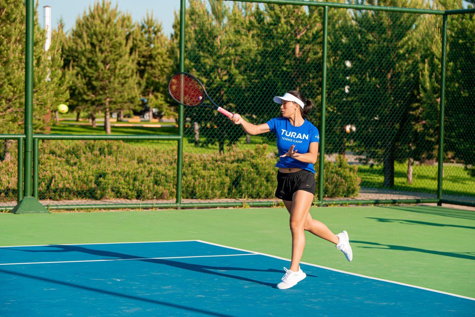 TURAN TENNIS CAMP: теннисный лагерь для лучших