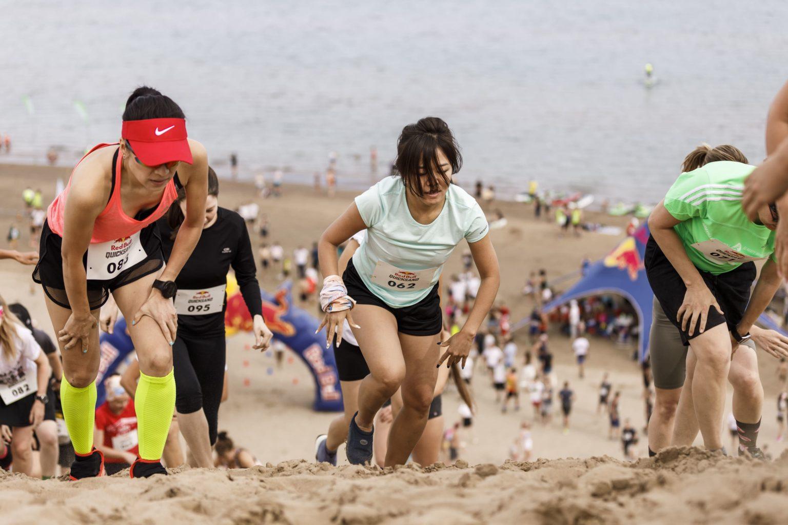 Песочные страсти. На берегу Капшагайского водохранилища прошел первый в Казахстане забег по песку