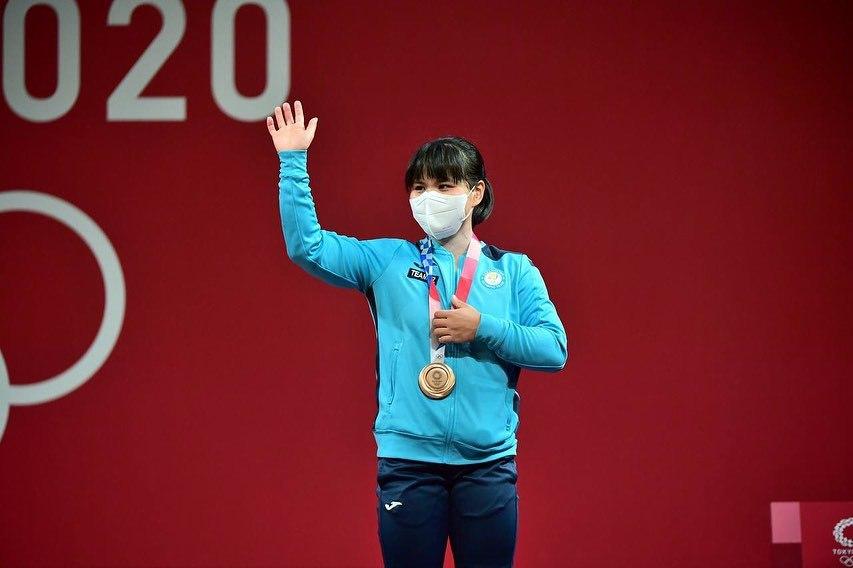 Зульфия Чиншанло выиграла бронзу на Олимпиаде