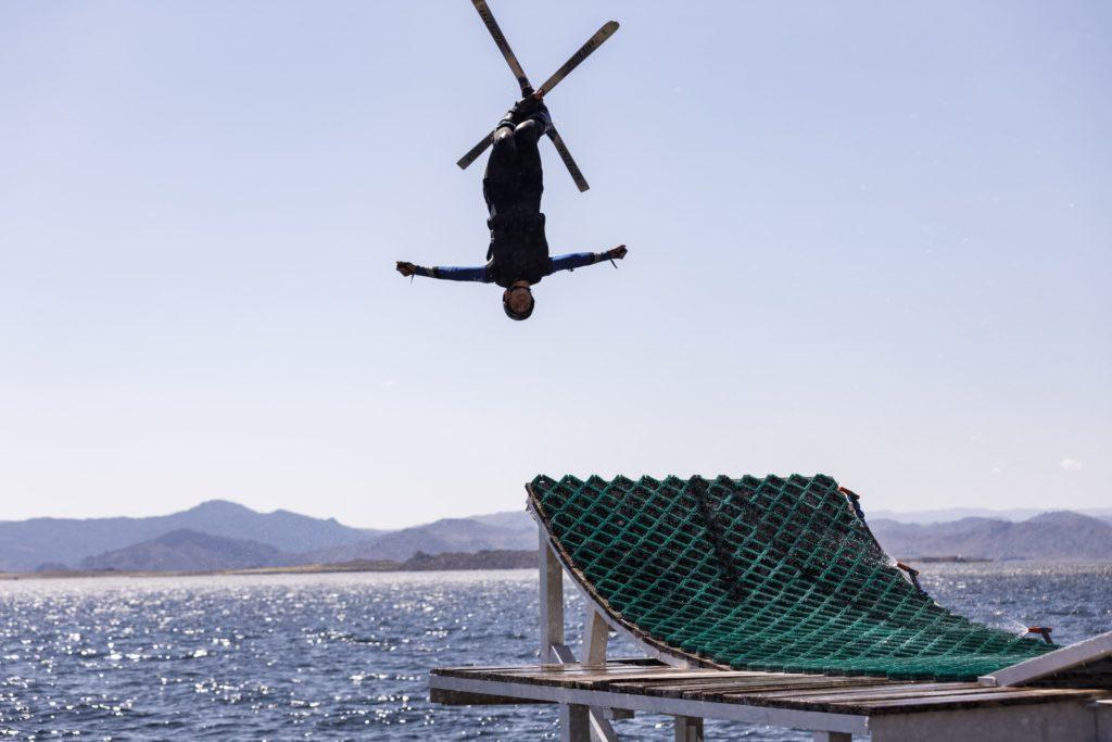 В ВКО прошел первый в истории страны Летний Кубок республики по прыжкам на водном трамплине