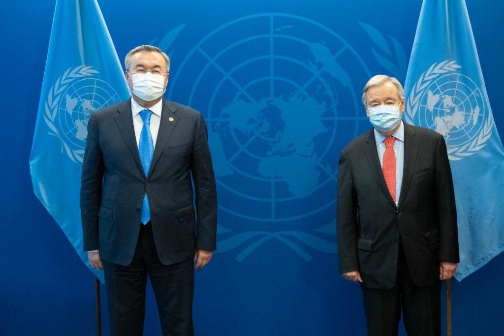 Генеральный секретарь ООН выразил благодарность Казахстану