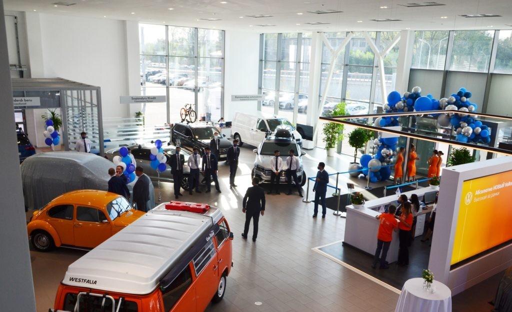 В Алматы и Нур-Султане открылись новые автоцентры Volkswagen