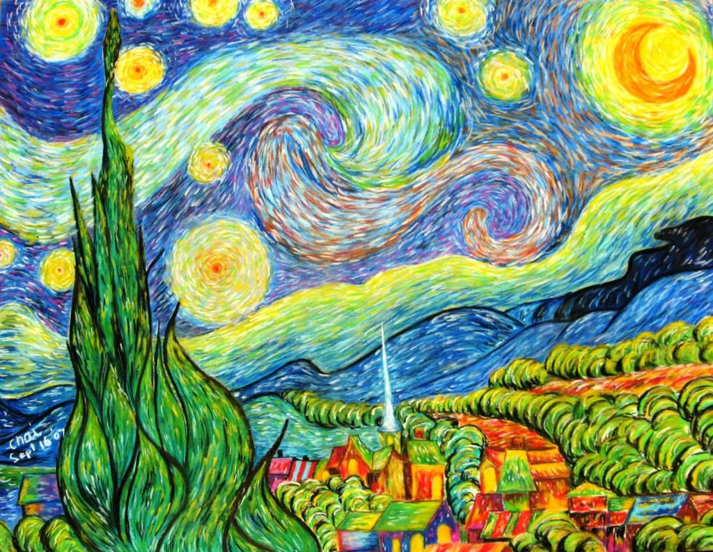 В чем причина успеха картин Ван Гога выяснили ученые
