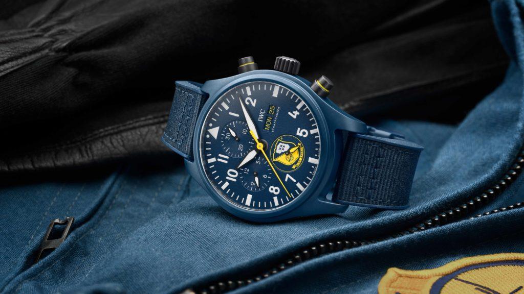 IWC представила керамические хронографы, вдохновленные работами с эскадронами ВМС США