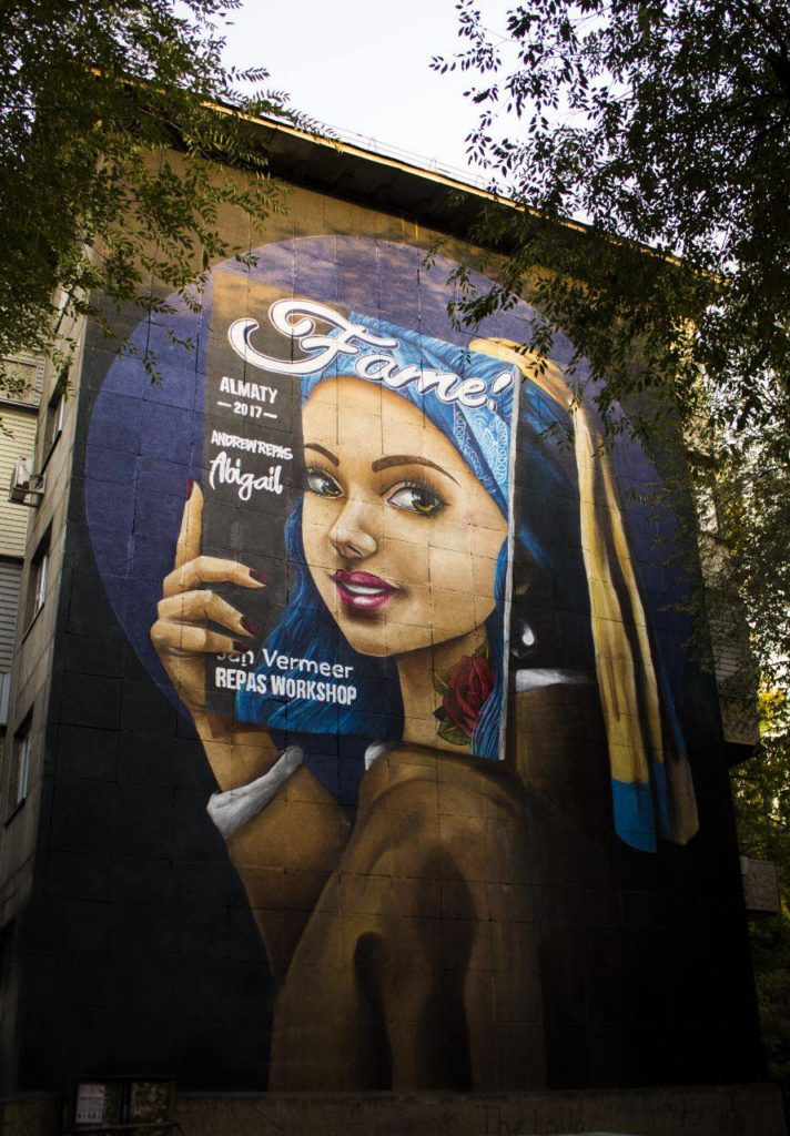 Каково это — быть мастером уличного искусства в Казахстане