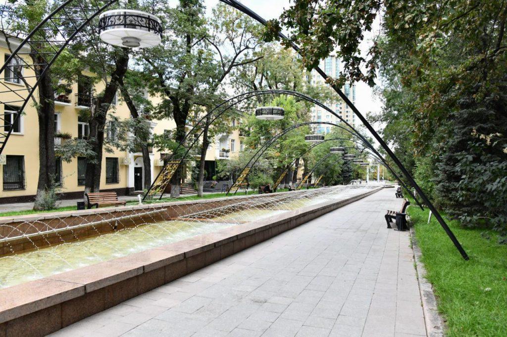 В Алматы восстановили легендарный фонтан «Неделька». Какие еще преобразования ждут городское пространство